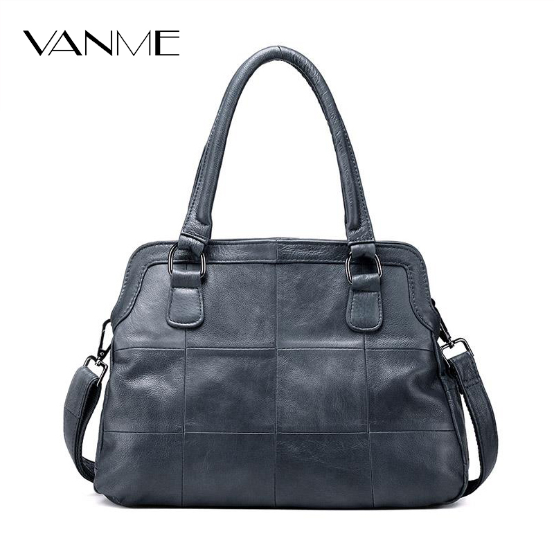 New Polyester Top Real Arrival Flap Genuine Leather 2017 Women Handbag Ladies Purse Bag Famous Designer Crossbody Top-handle