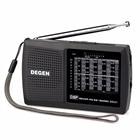 DEGEN DE321 Mini Radio FM Stereo MW SW Radio DSP World Band Receiver 3.5mm Earphone Jack FM Portable Rradio Station A0905A