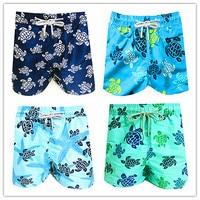 2019 Brand Vilebre Baby Boys Beach Board Shorts 100% Quick Dry Bermuda Turtle Children Boardshorts Vile Kids Swimwear 8 16 Years