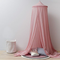 2019 Hot New Baby Canopy with balls Children's Indoor Tent 1.5m Bed princess canopy tent children baby bedroom decoration B910