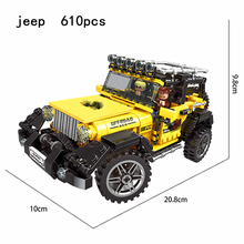 Technic Blocks The  ATV Technic Car Model Building Blocks  Friends Bricks Kids Toys For Children Gift technic series race car children bricks model building kits blocks toys for boys christmas gift compatible legoings diy kids toy