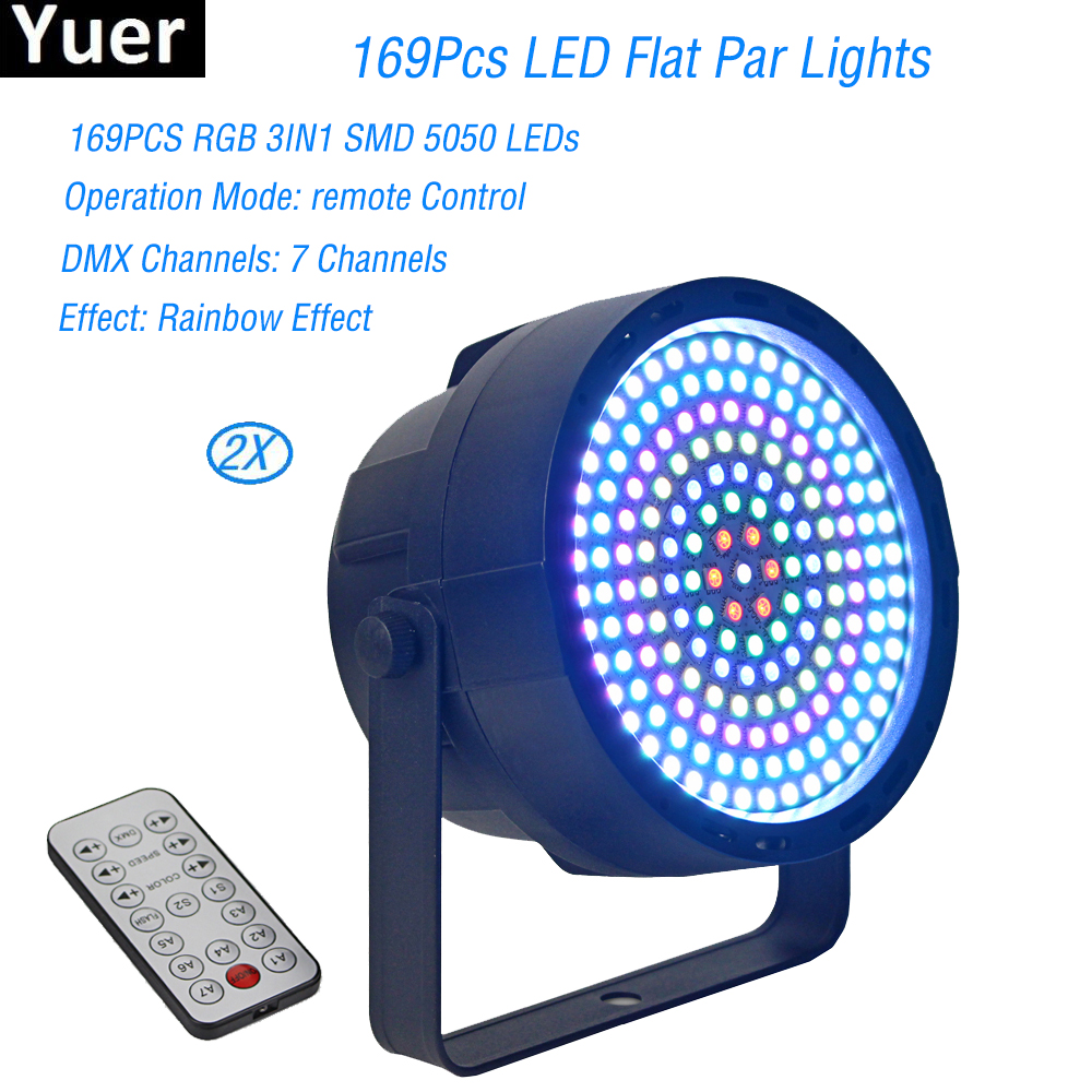 2018 LED Flat Par 169Pcs RGB 3IN1 DMX 512 Stage Lights Business Lights High Power Light with Professional For Party KTV Disco DJ2018 LED Flat Par 169Pcs RGB 3IN1 DMX 512 Stage Lights Business Lights High Power Light with Professional For Party KTV Disco DJ