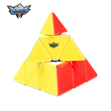 3x3x3 Циклон Мальчики Треугольник Пирамида Pyraminx Magic Cube Головоломки Кубики Твист Кубо Площади Подарки Головоломки Обучающие игрушки для Childre