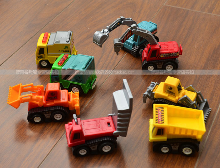 toy cars and trucks. Drop Shipping 3 Sets Pull Back Car Toys Series Of Trucks Children Racing Baby Mini Cars 8Pcs/set Best Gift-in Diecasts \u0026 Toy Vehicles From And L