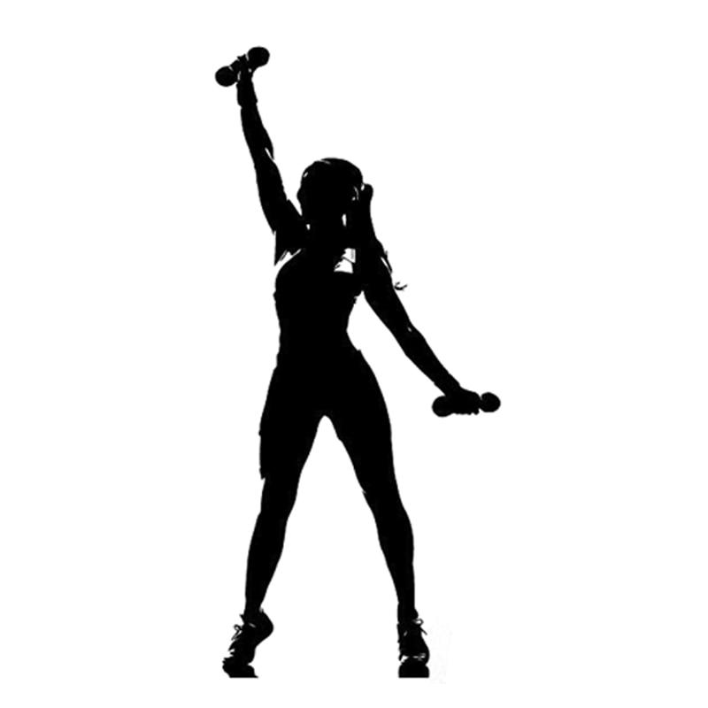 Фитнес белая картинка