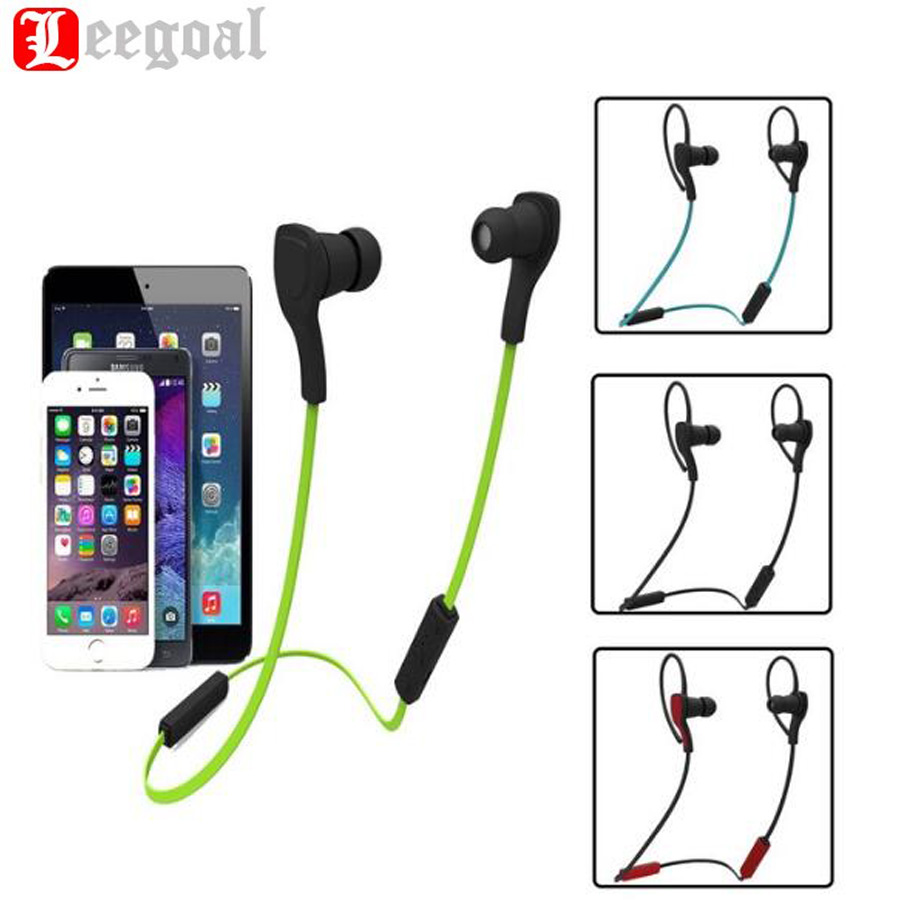 BT-H06 Sport Music Earphone Wireless Bluetooth 4.1 Stereo Earphone Portable Handsfree Running In Ear Headset With Mic For Phone