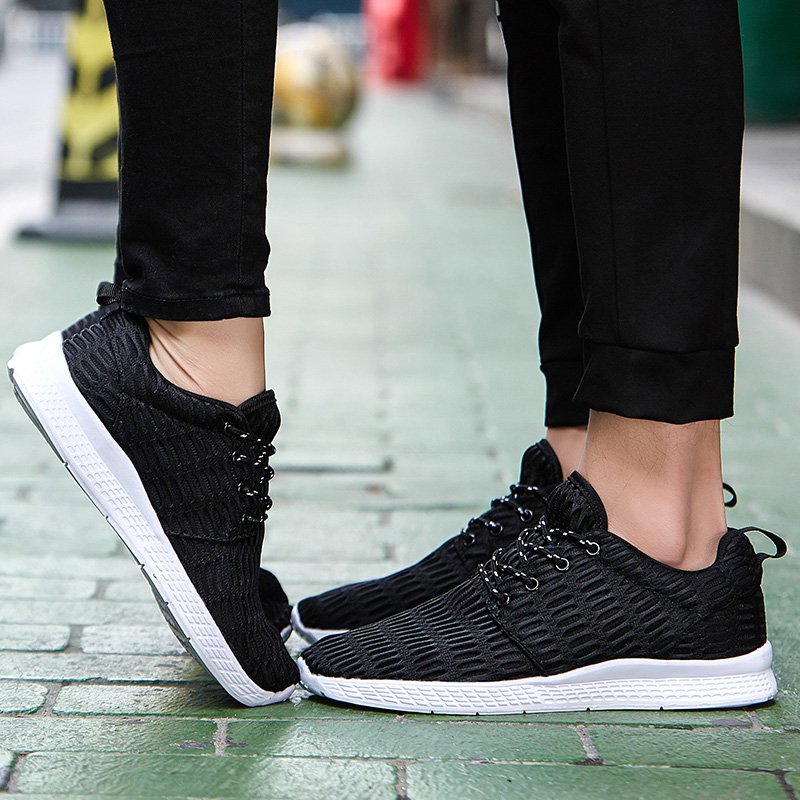 Valentine Shoes Woman Sport Casual Shoes Women Trainers Flat Heel Low Top Women Shoes Outdoor Air Mesh Runner Shoes Flats ZD66 (25)
