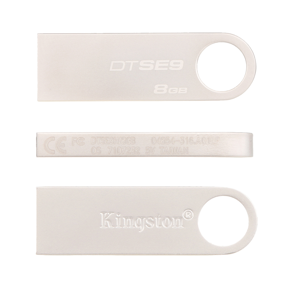 Kingston Flash Drive 2.0 8GB waterproof Metal silver u disk High Speed 16GB Pen Drive Flash Pendrive USB Stick Memory For PC usb flash drive 8gb kingston datatraveler locker g3 dtlpg3 8gb