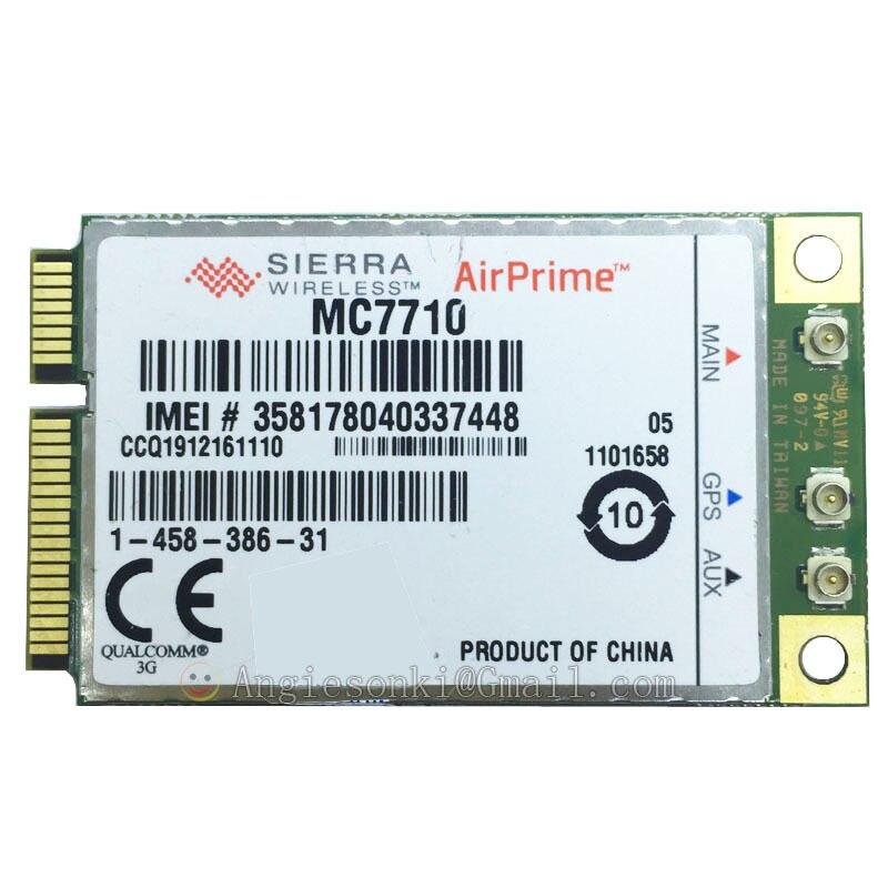 4g 3g Modul Pci-e 100 Mbps Wwan-karte 800/900/2 100 Mhz Unterstützung Gobi Api Neueste Mode Hell Entriegelte Sierra Airprime Mc7710 Lte/hspa/edge/gprs/gsm 3g-modems