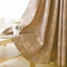 Custom Made Modern European American Style Embroidered Cloth Curtains For Living Room Blackout Drapes For Bedroom Sheer Tulle 30