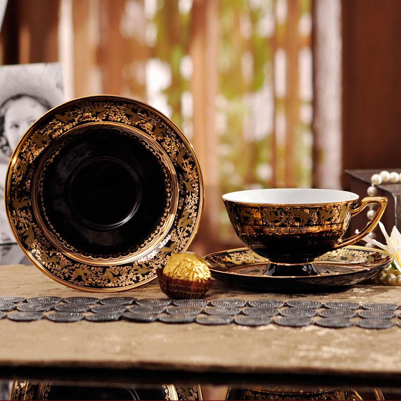 Набор 15 шт еўрапейскі раскошны кававы - Кухня, сталовая і бар - Фота 3