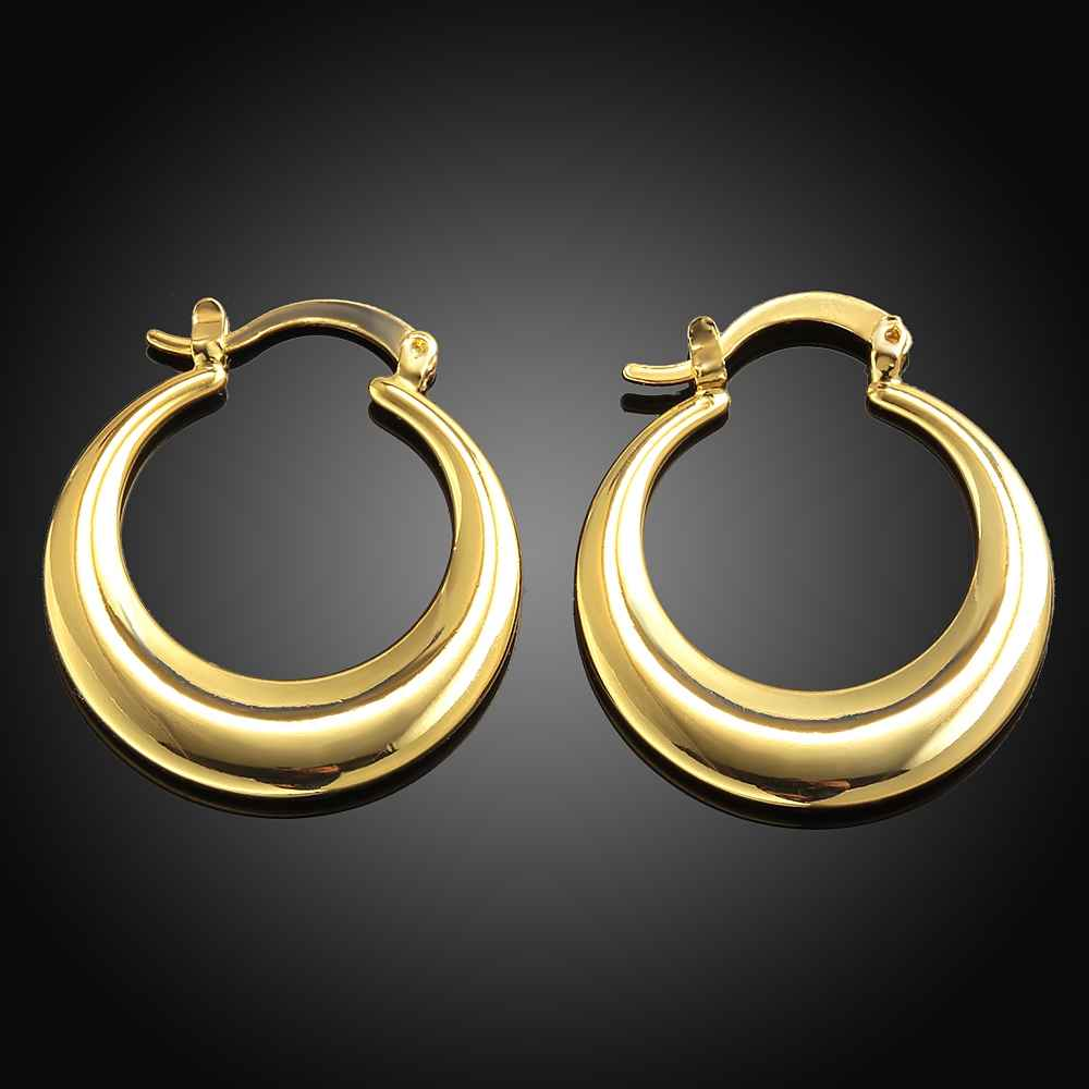 Hot & New fashion šperky roztomilý obruč náušnice pro ženy - Bižuterie