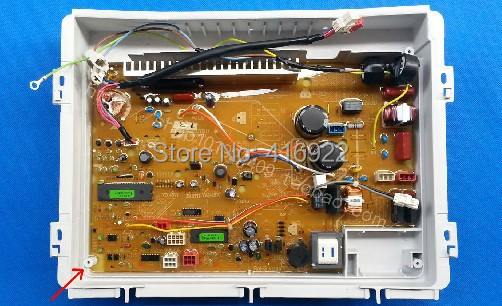 Free shipping 100 tested for sanyo frequency conversion washing machine board xqb60 b830s xqb60 b830ys b835ys
