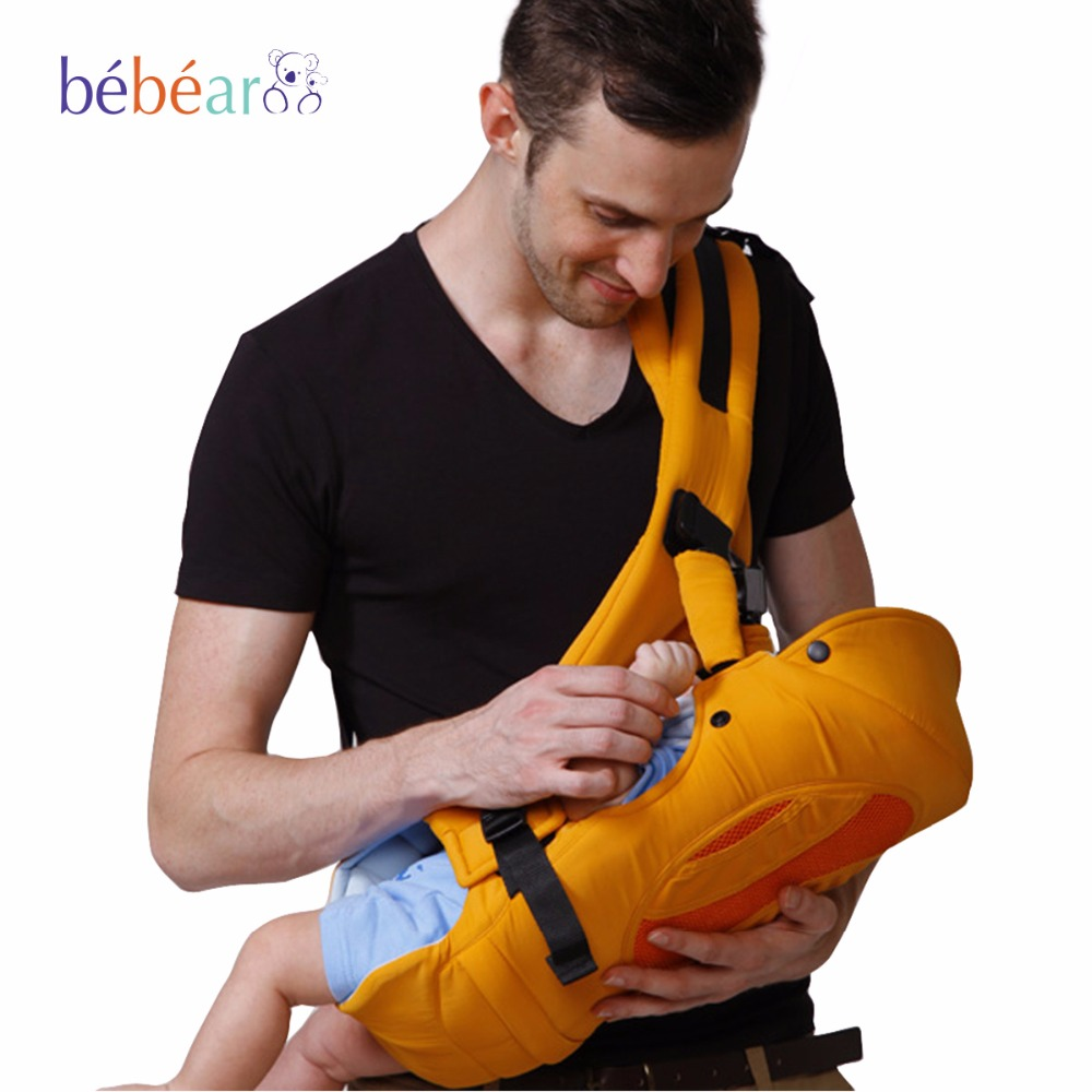 0-12 month 4 in 1 posture Multifunction fashion Ergonomic baby carrier load 12KG backpack Breathable 3D mesh fabric kid sling