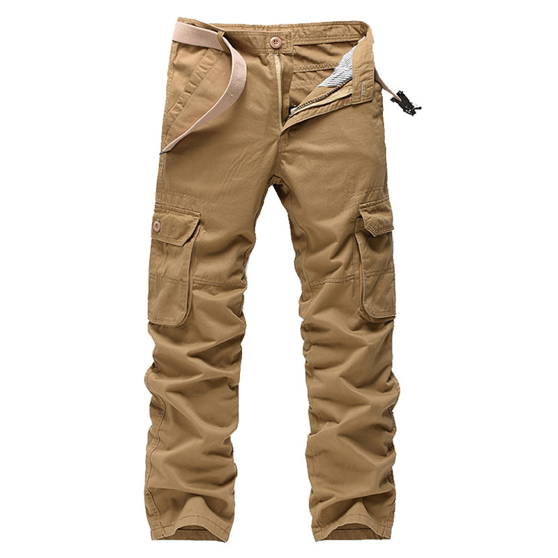 Army Cargo Pants Working Trousers Clothes For Mens Military Tactical Pants Washing Cotton Overalls Sweatpants