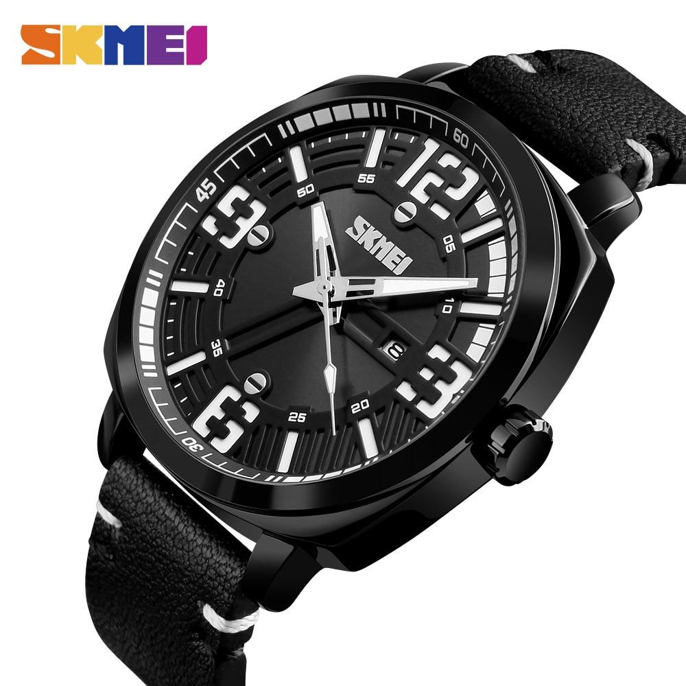 SKMEI Men Fashion Watches Top Brand Luxury Military Quartz Wristwatches Waterproof Outdoor Sport Watch Clock Relogio Masculino