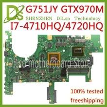 Kefu G751JT для ASUS G751J REV2.5 G751JY I7-4720HQ/I7-4710HQ GTX970M материнская плата видеокарты ноутбука Тесты