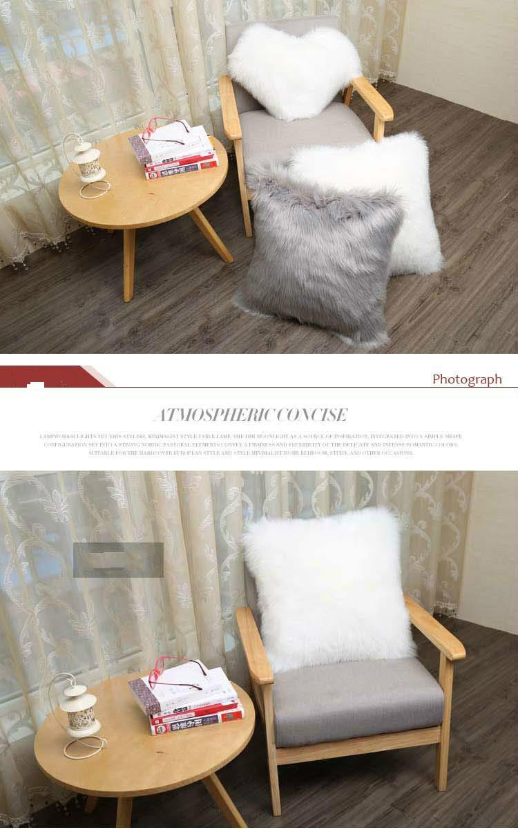 Faux Fur Pillowcases