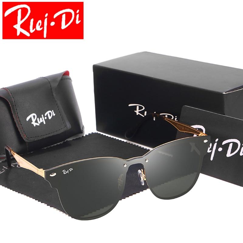 Image Fashion Aviation Sunglasses Women 2018 Brand Designer Outdoor Male Driving Sunglasses Unisex Integrated Pink Shades Female UV400