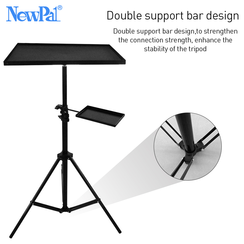 Image 3 - Projector Bracket Aluminum Pallet Anti scratch Floor Projector Stand Tripod For Laptop Bracket Stand Russia Warehouse Clearance-in Projector Brackets from Consumer Electronics
