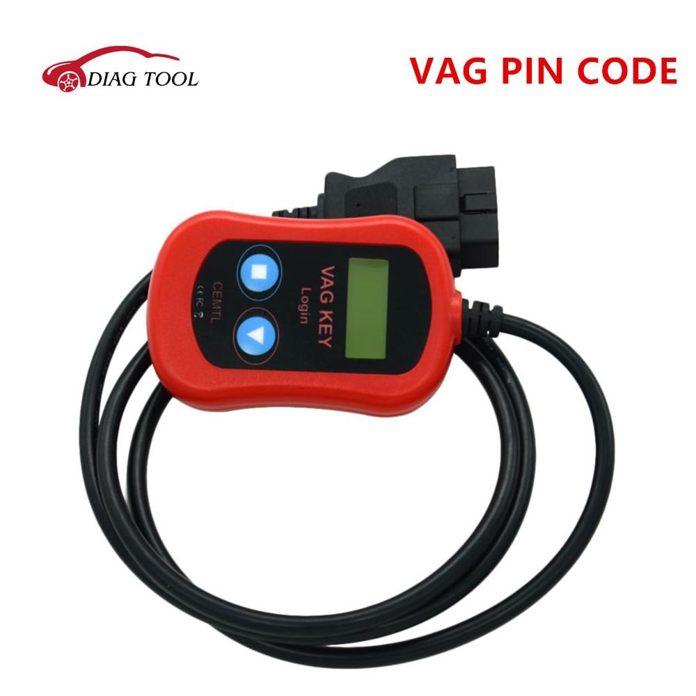 Цена за 2017 Vag Pin Code Reader Auto Key программист OBD2 Vag Ключ Войти Автомобиля Диагностический Инструмент Code Reader бесплатная доставка