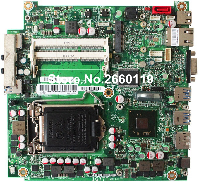 For M92 M92P M72E IQ77T system motherboard, fully tested