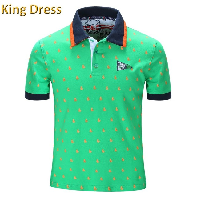 2016 Top Loose Contrast Color Polos Men High Quality New Pattern Spring Summer Cotton Short Sleeve Spots Men's Polo Shirt