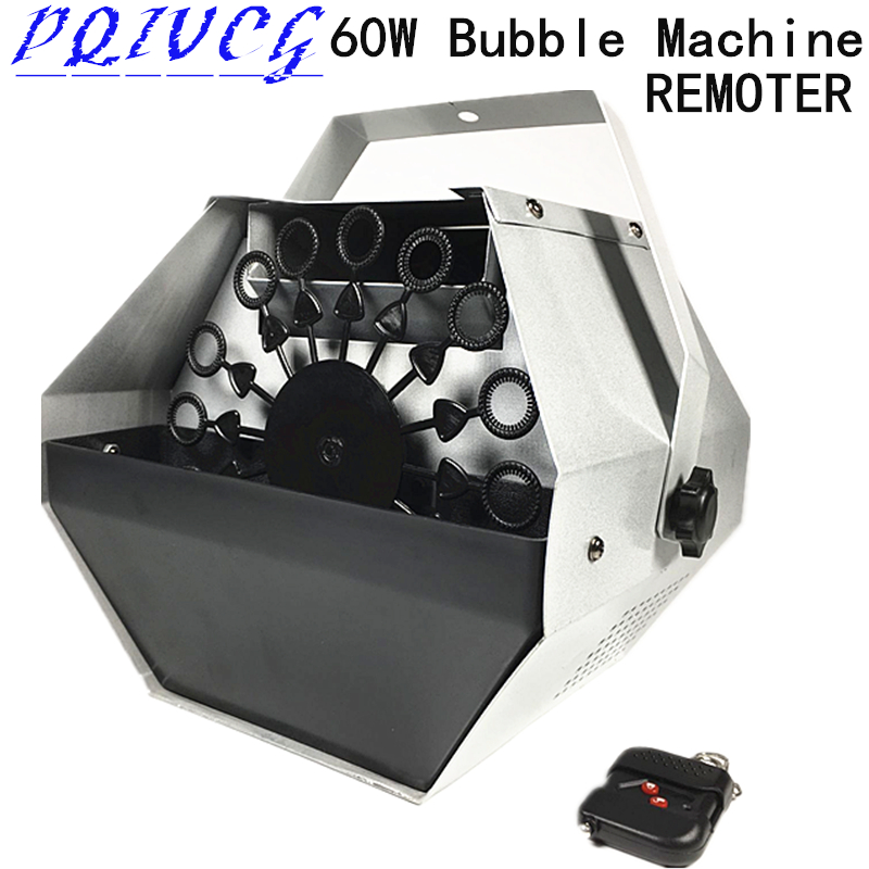60w Remote Bubble Machine Stage Lighting Wedding Dj Equipment Stage Effects Bubble Machines 100% New