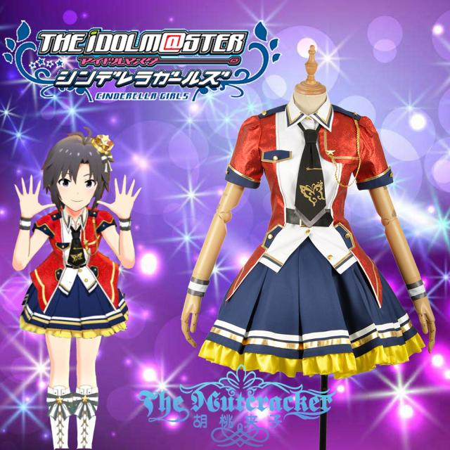 [Customize] 2018 THE IDOLM STER MILLION LIVE Cosplay Costume THEATER DAYS SJ Uniform For Women Christmas Party Free Shipping New