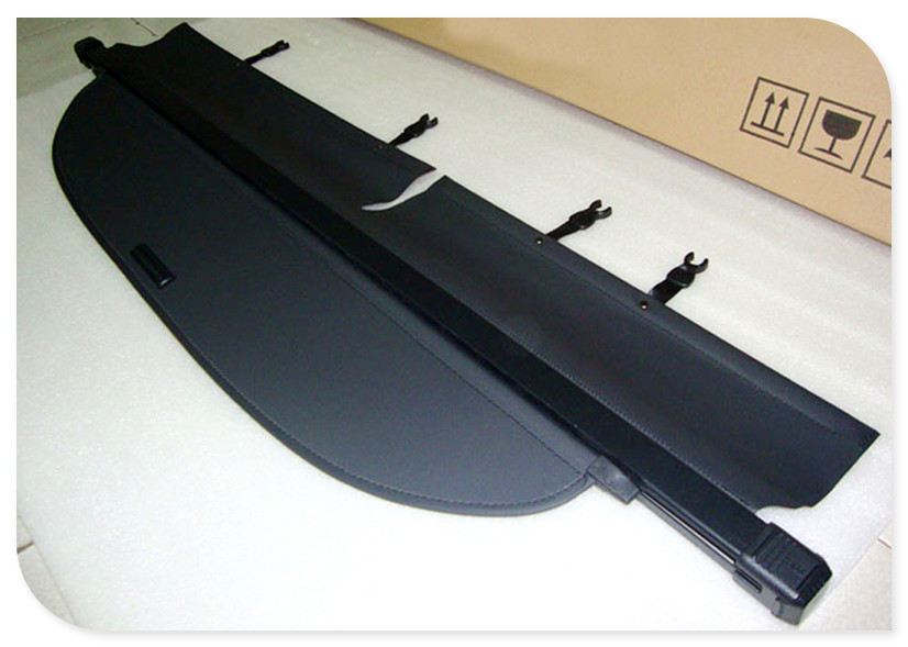 цена на For TOYOTA RAV4 2013 2014 2015 2016 2017 BLACK Rear Trunk Security Shield Cargo Cover