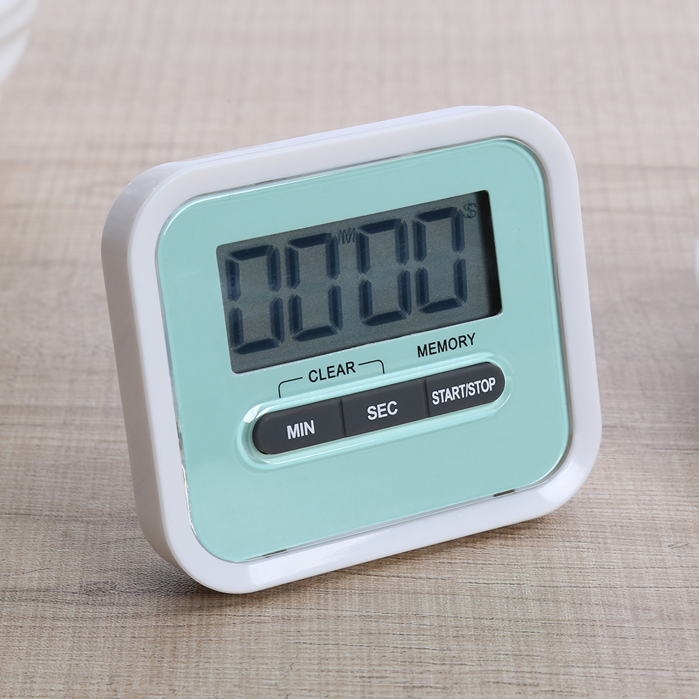 Large LCD Digital Kitchen Cooking Timer Count Down Up Clock Loud ...