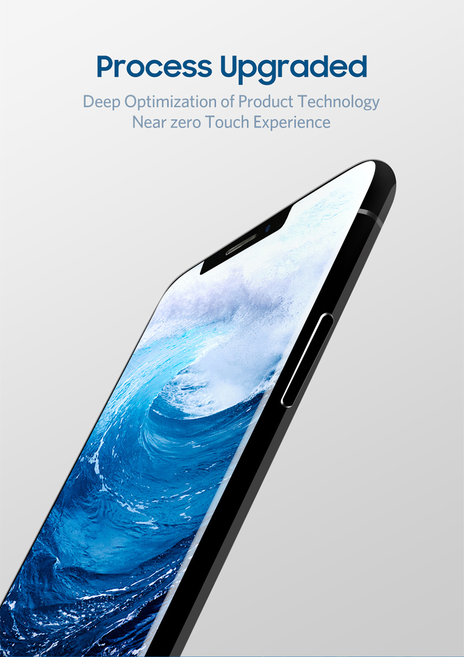 Benks 0.3mm Full Cover Tempered Glass For iPhone XS 5.8'' XS MAX 6.5'' XR 6.1 HD Screen Protector Anti Blu Ray Glass Front Film (2)
