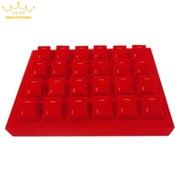 Jewelry Display Jade Jewelry Props Tray Jewelry Pallet Holder One Tray With 20pcs Magnet Pendant Sheets