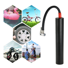 Mini Portable Air Compressor Inflator Handheld Air Pump Electric Ball Pump LCD Display with LED lighting for Ball Bicycle Car Tire цена