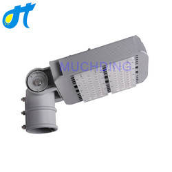 Nowoczesne Led światła uliczne 100 W watów lampa z obrót słup interfejs wysokiej jakości oświetlenie aluminiowe oprawa