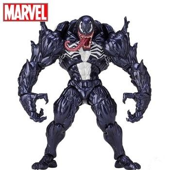 Disney Marvel 18cm Amazing Spider-Man Venom action figure model toys Anti Venom movable figurine pvc collection toys for gifts