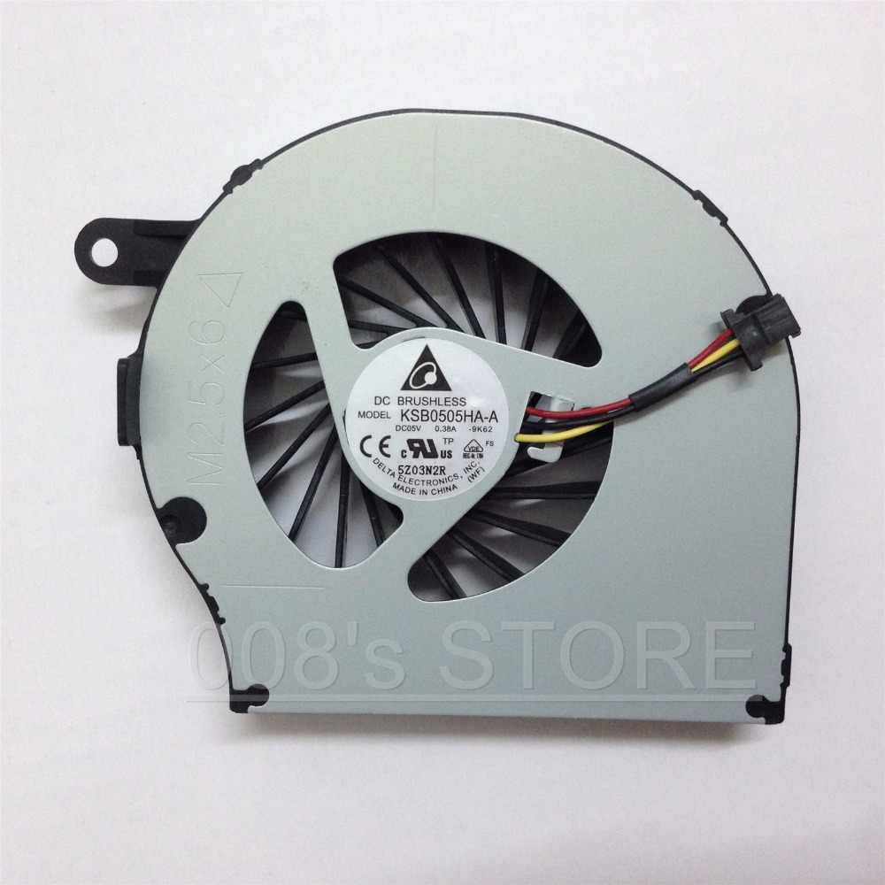 New Laptop CPU Cooler Fan untuk HP Compaq CQ72 G72 CQ62 G62 612355-001 KSB0505HA-A 9K62 NFB73B05H Ab7505HX-EC3 3 pin