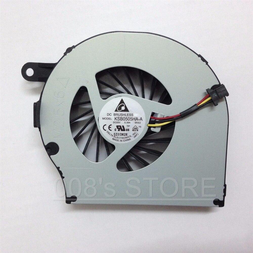Новый охлаждающий вентилятор для ноутбука HP Compaq CQ72 G72 CQ62 G62 612355-001 KSB0505HA-A 9K62 NFB73B05H 3 Pin