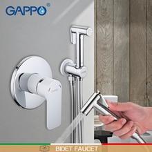 GAPPO bidet rubinetto doccia a mano da bagno bidet lavatrice rubinetto del bagno doccia wc bidet soffione doccia musulmano miscelatore rubinetto