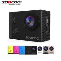 SOOCOO C30 C30R 4K Sports Camera 1080P 60FPS HD Wifi Gyro NOVATEK96660 30M Waterproof Action Camera