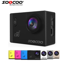 SOOCOO C30/C30R 4K Sports Camera  1080P/60FPS HD Wifi Gyro NOVATEK96660 30M Waterproof Action Camera