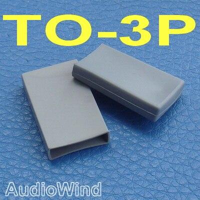 ( 100 Pcs/lot ) TO-3P Transistor Silicone Rubber Cap, Insulator.