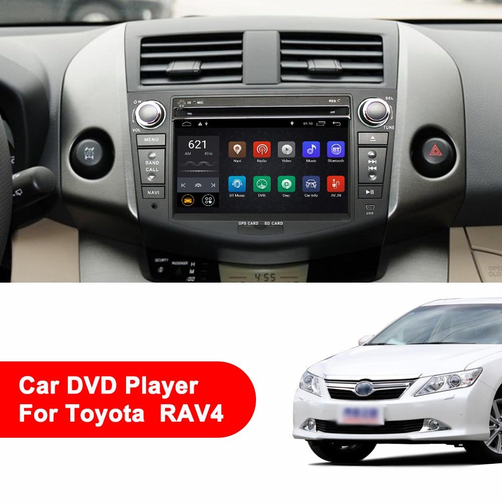 Image 3 - Eunavi Android 9.1 TDA7851 car dvd multimedia player 7'' 2 Din radio GPS Navi for Toyota RAV4 Rav 4 2007 2008 2009 2010 2011-in Car Multimedia Player from Automobiles & Motorcycles