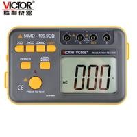 Victor VC60E+ Digital Insulation Resistance Tester Megger MegOhm Meter DC/AC 50M ohm 199.9G ohm