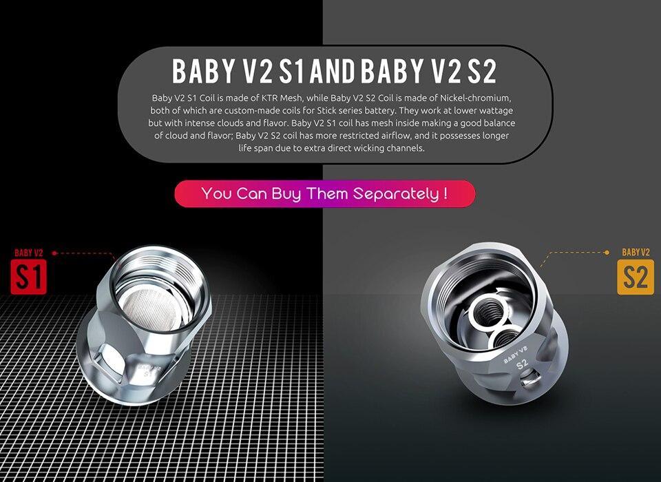 v8 baby v2 coil