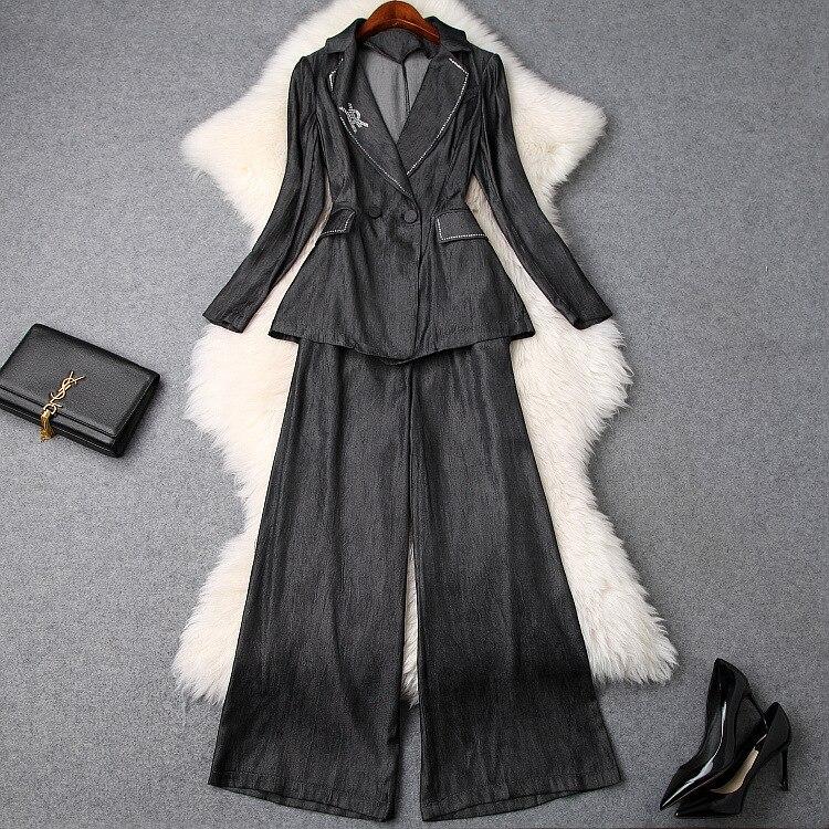 Partie Style Vêtements Design Européenne Ensembles Kah03259 De Mode Luxe 2019 Piste Femmes Célèbre v7Pn7zFx
