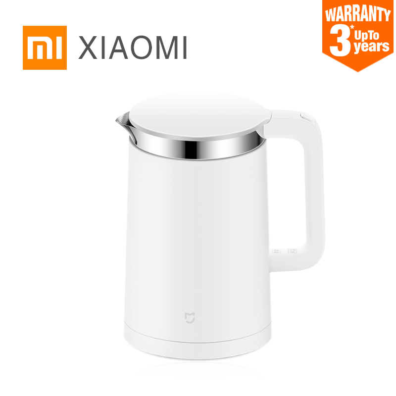 Original XIAOMi Mi home Constant Temperature Control Electric Water Kettle 1.5L 12 Hour thermostat Support with Mobile Phone APP Мотоцикл