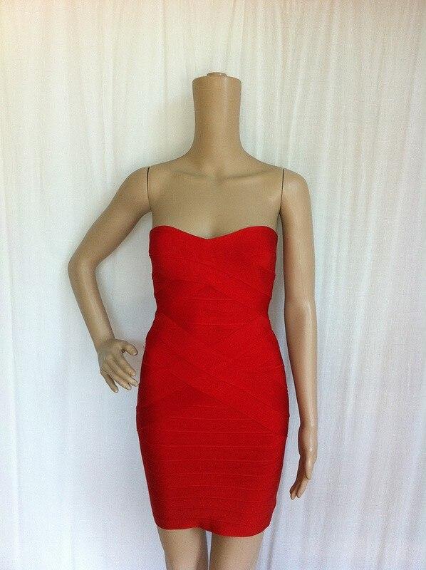 Ким Кардашьян, без бретелек, с открытыми плечами,, сексуальное женское платье, вискоза, бодикон, опт, дешевые мини обнаженные платья - Цвет: X Red