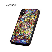 princess cartoon patterns soft silicone edge cell phone cases for apple iPhone x 5s SE 6 6s plus 7 7plus 8 8plus XR XS MAX case стоимость