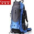 Creeper Kostenloser Versand 60L Professionelle Wasserdichte Rucksack Interne Rahmen Klettern Camping Wandern Rucksack Bergsteigen Tasche